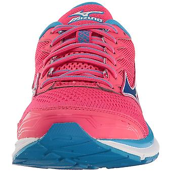 Mizuno Womens Wave Rider Low Top Lace Up Running Sneaker