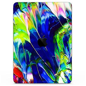 Blurred Abstract Flow V6 - Full Body Skin Decal For The Apple Ipad Pro
