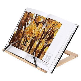 новый деревянный каркасный кронштейн книжной полки для чтения sm32632