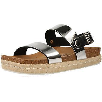 Sandales jaunes Doha Couleur Argent