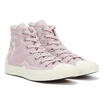 Converse Chuck Taylor All Stars Hi Top Womens Himalyan Zout / Zilverreiger Trainers