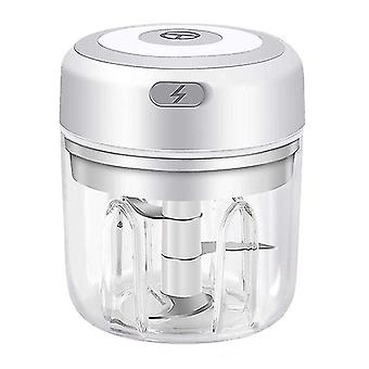 Mini rechargeable wireless electric garlic masher kitchen household tool meat grinder making