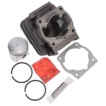 2-stroke Grass Trimmer Mower Cylinder Piston Accessory Kit Fit For 40-5/44-5/430/520 Chain Saw