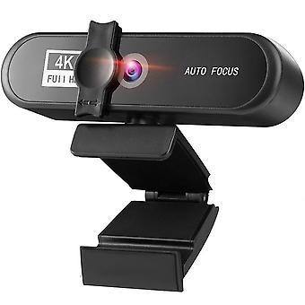 In Stcok 2K 4K Conference PC Webcam Autofocus USB Web Camera Laptop Desktop For Office Meeting Home