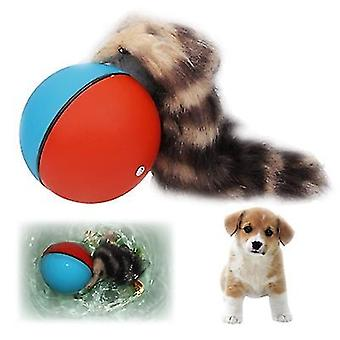 Motorized Rolling Chaser Ball Toy for Dog / Cat / Pet / Kid(Blue)