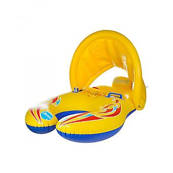 Sunshade  Sitting Floating Circle Inflatable And Parent-child Swimming Toy