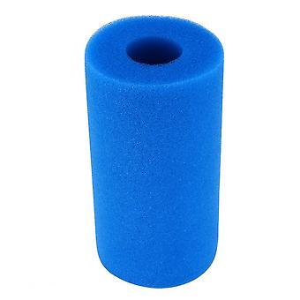 Blue Pre-filter High Density Cylinder Cartridge Replacement Filters For Aquarium Fish Tank Swimming Pool