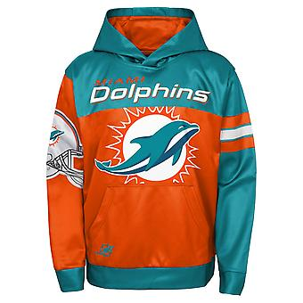 Kids NFL Sublimated Hoody - GOAL Miami Dolphins
