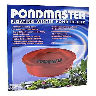 Pondmaster Floating Winter Pond De-Icer - 120 Watts - Up to 2,000 Gallons with 18' Cord