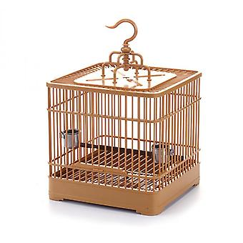 Plastic Combination Pet Cage Display Cage Square Embroidered Eye Blackbird Parrot Cage