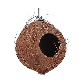 צעצועי כלוב ציפורים קישוט הבית הביתי חם אוגר תוכי תוכי קן תוכי
