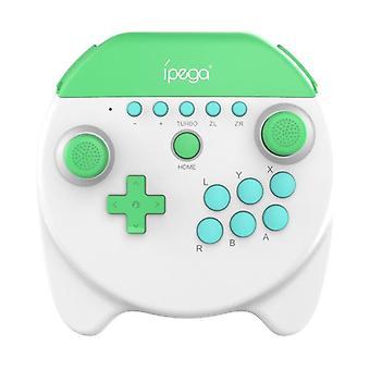 بلوتوث لوحة الألعاب اللاسلكية لنينتندو التبديل NS لايت تحكم اللعبة جويستيك(أبيض)