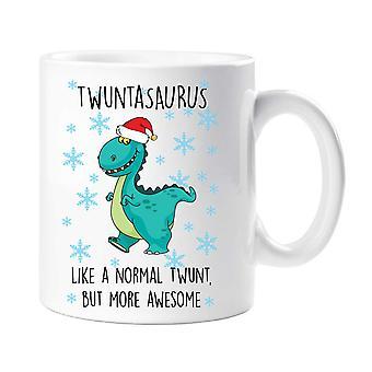 Christmas Twuntasaurus Mug