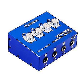 Musical instrument amplifier cabinets alctron 4-channel portable stereo headphone amplifier mini earphone splitter amp trs/rca headphones