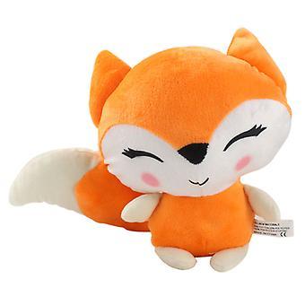 24cm Kawaii Fox Pehmolelut Pehmeät täytetyt eläimet Nukke Muhkea Tyyny Syntymäpäivä Joulu Lahjat Tytöille Lapsille