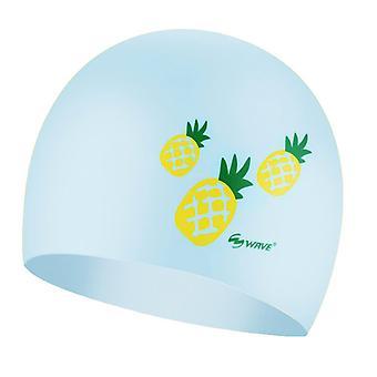 Wave Pineapple Swimming Cap
