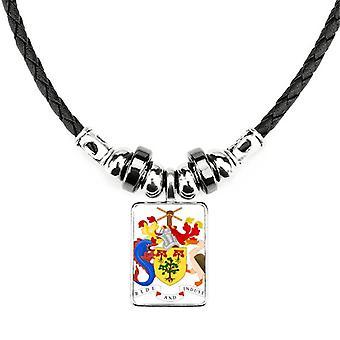 Bridgetown Barbados Štátny znak náhrdelník