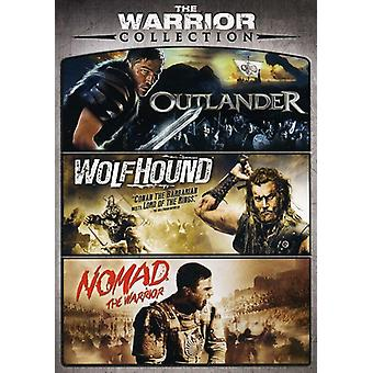 Warrior Triple Feature [DVD] USA import