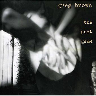 Greg Brown - Poet spelet [CD] USA import