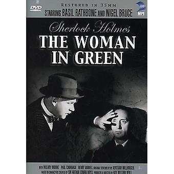 Sherlock Holmes - Sherlock Holmes & Woman in Green [DVD] USA import
