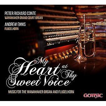 Saint-Saens / Conte, Peter Richard / Ennis, Andrew - My Heart at Thy Sweet Voice - Music for Wanamakern [CD] USA import