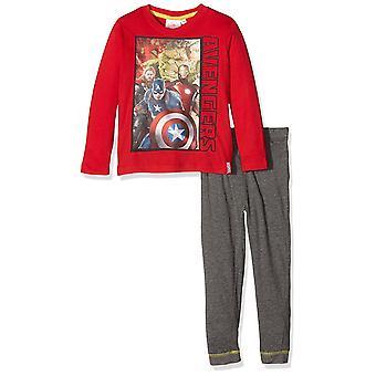 Meninos Marvel Vingadores conjunto de pijama manga longa