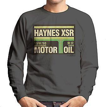Haynes Brand XSR Tokyo Motor Oil Men's Sweatshirt