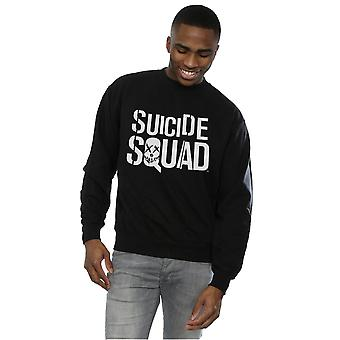 Suicide Squad Men's Movie Logo Sweatshirt