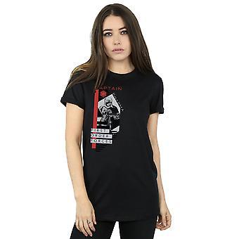 الماضي جدي الكابتن فاسما صديقها حرب النجوم للمرأة تناسب القميص