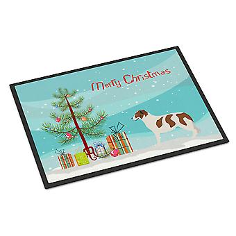 Aidi Atlas Mountain Dog Christmas Indoor or Outdoor Mat 24x36