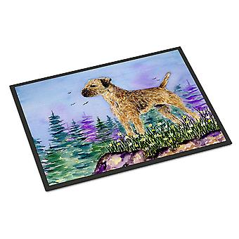 Carolines Treasures  SS8664MAT Border Terrier Indoor Outdoor Mat 18x27 Doormat