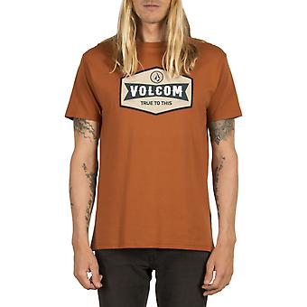 Volcom Budy Short Sleeve T-Shirt in rame