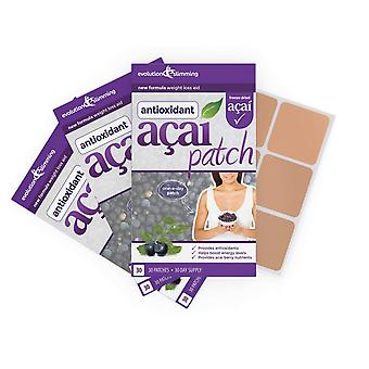 Acai Berry Patch met groene thee - 90 Patches - gewicht verlies Patch - evolutie afslanken