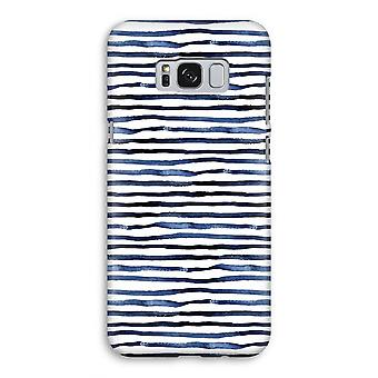 Samsung Galaxy S8 volledige Print geval (Glossy) - verrassend lijnen