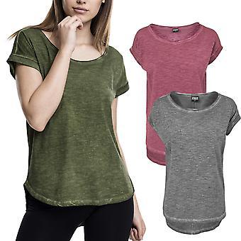 Señoras urbano clásicos - largo en forma de spray tinte superior camisa de HiLo