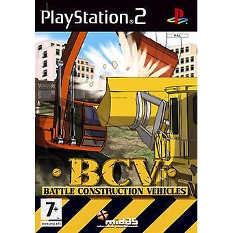 BCV Battle Construction Vehicles (PS2) - New Factory Sealed