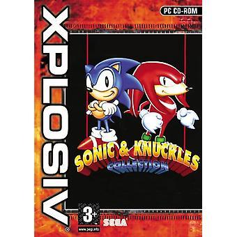 Sonic och Knuckles (PC CD)-fabriken förseglad