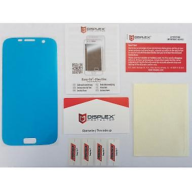Displex Easy-On 2 x screen protectors, a Microfiber cloth for Samsung Galaxy S7 edge
