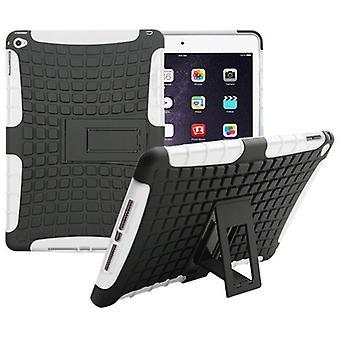 Случай гибрида открытый защитная крышка белая для Apple iPad 2 надувных