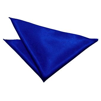 Royal Blue Plain Satin Tasche Platz