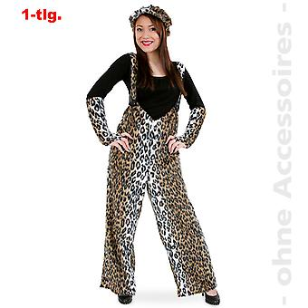 Leopard Leopard bukser Wildcat predator kat kostume unisex