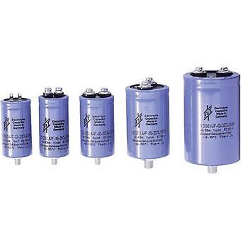 FTCAP GMB22306350080 elektrolytisk kondensator skruvtyp 22000 µF 63 V 20% (Ø x H) 50 x 80 mm 1 dator