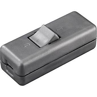 interBär 8010-020.01 Pull switch Titanium 2 x av/på 10 a 1 dator