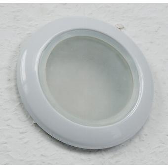 Couverture - projecteurs encastrés aux pièces humides rond Ø 92 mm IP 44 blanc