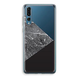 Huawei P20 Pro Transparent Case (Soft) - Marble combination
