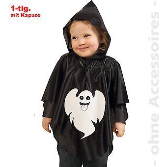 Spöke svart småbarn ghost Cape ande barn kostym
