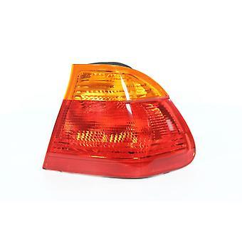 Rechter bestuurder kant staart lamp (Amber Saloon modellen) voor BMW 3-serie 1998-2001