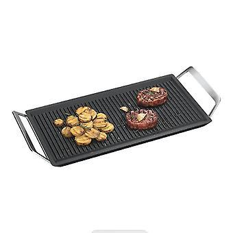 AEG A9HL33 Plancha Grill plate 22x43x 1,8 cm støpt aluminium/svart