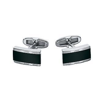 Joop men's cufflinks silver with epoxy JPZZ90026M000