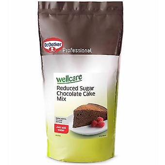 Dr Oetker Wellcare Reduced Sugar Chocolate Cake Mix
